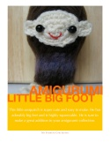 Amigurumi Big Foot Pattern