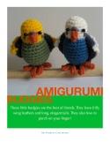 Amigurumi Budgie Pattern