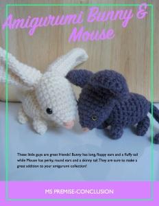 Amigurumi Bunny & Mouse Cover