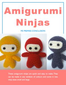 Amigurumi Ninjas Cover