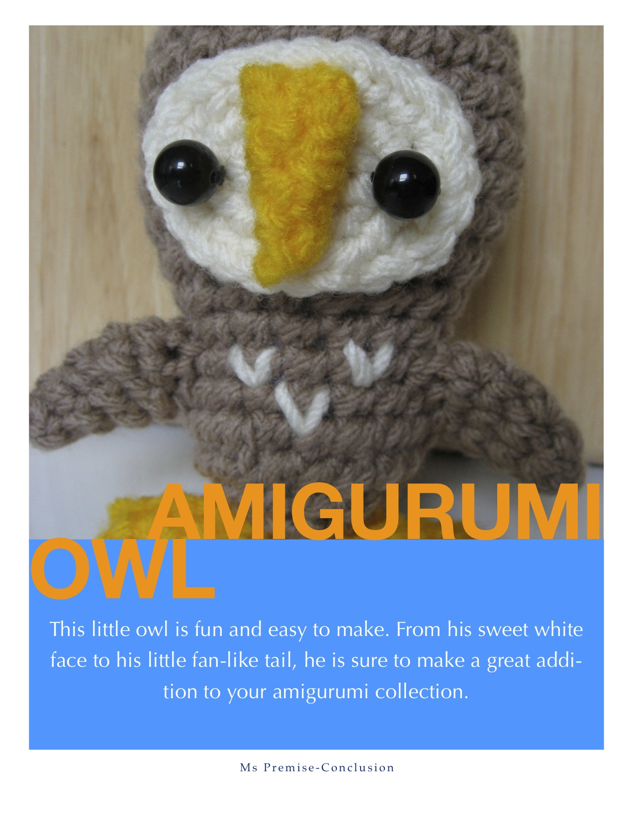 Amigurumi Owl Pattern