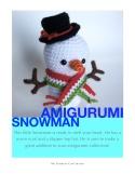 Amigurumi Snowman Cover