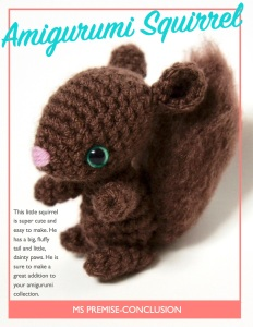Amigurumi Squirrel Cover
