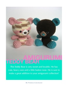 Amigurumi Teddy Bear Cover