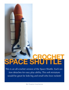 Crochet Shuttle Pattern