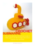 Crochet Submarine Cover
