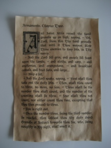 Book of Armaments