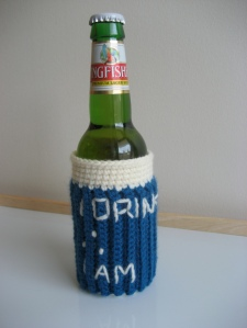 Philosopher's Beer Cozy