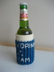 Philosopher's Beer Cozy