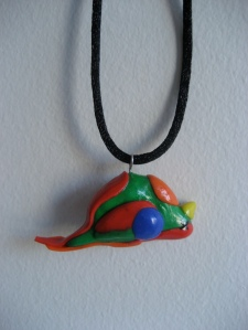 Dead Parrot Necklace