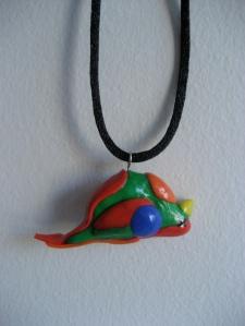 Dead Parrot Necklace