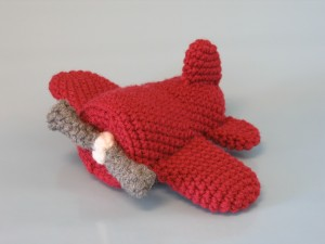 Crochet Prop Airplane