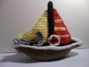 Crochet Sailboat