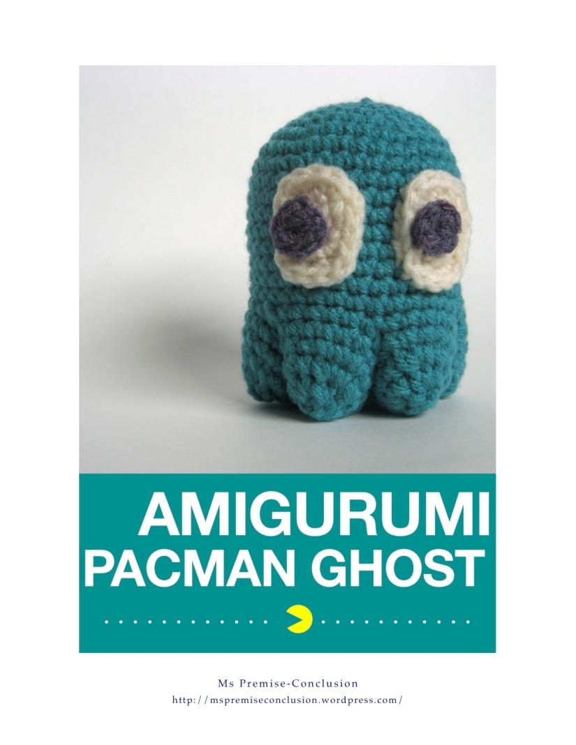Amigurumi Pacman Ghost Cover