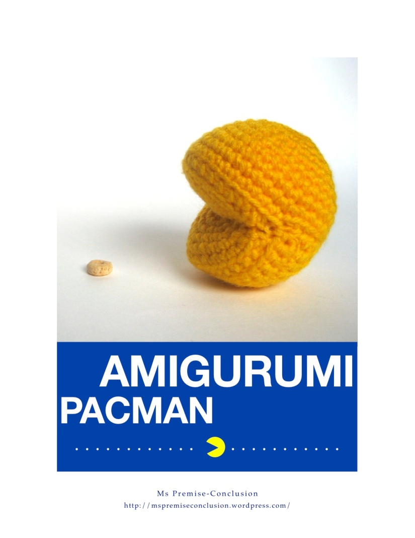 Amigurumi Pacman Cover