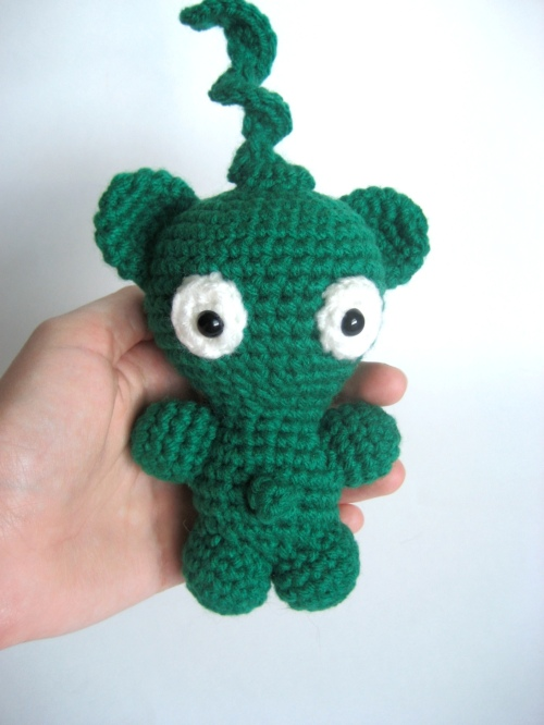 Space Monkey Amigurumi