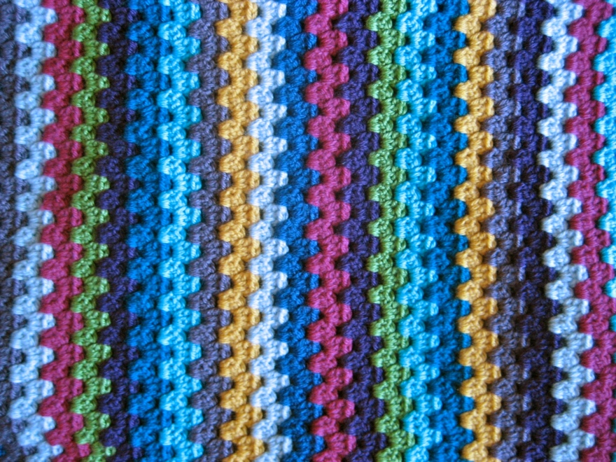 Granny Stripe Close Up