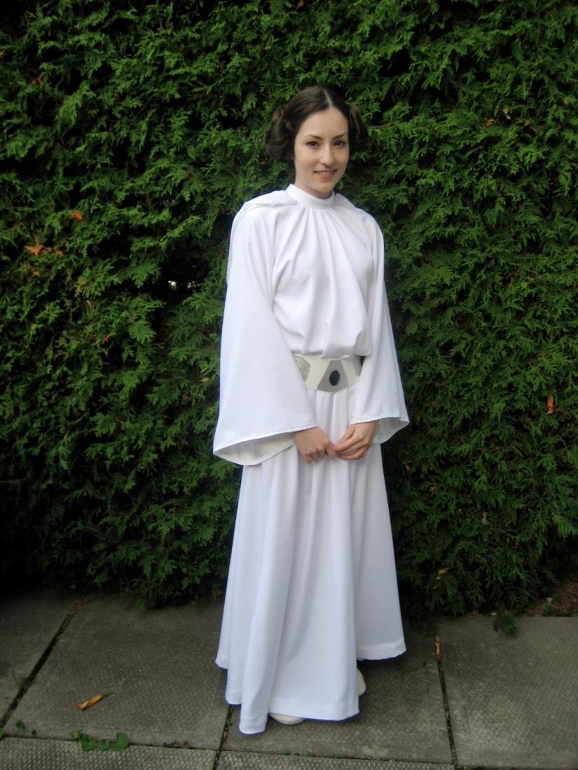 Me as Leia