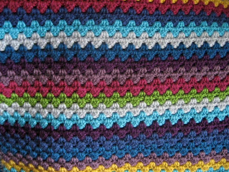 Blanket close up