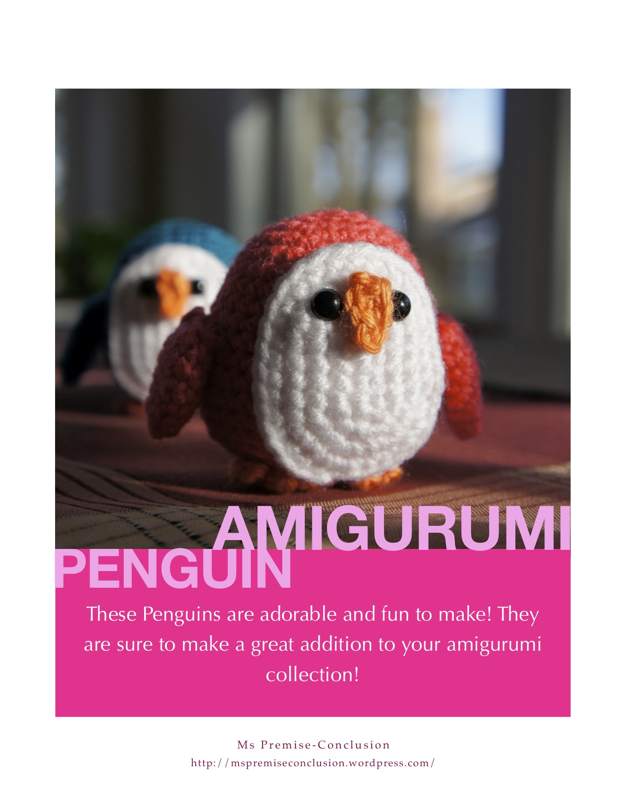 Amigurumi Penguin Pattern : Penguin Pattern Time Ms Premise-Conclusion