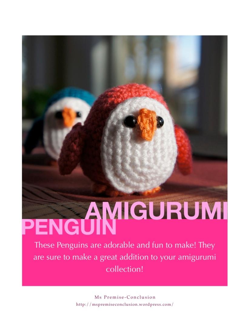 Penguin Pattern Cover