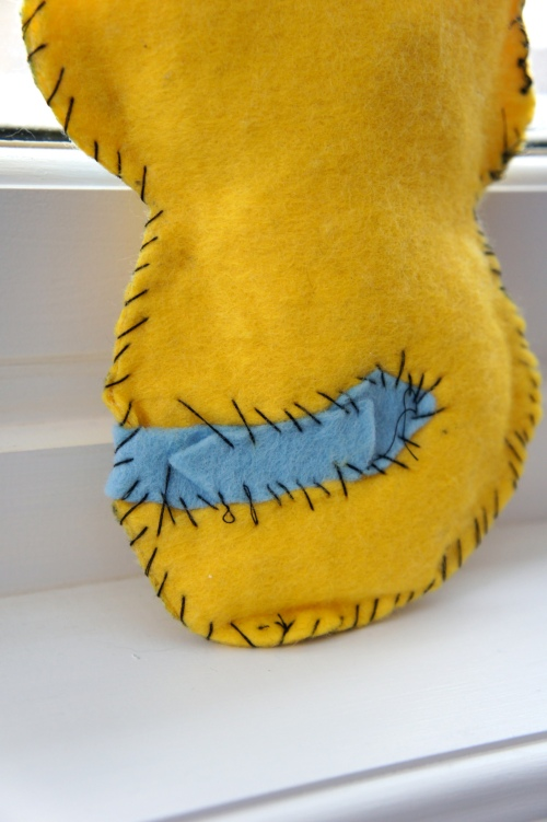 Pikachu stitches