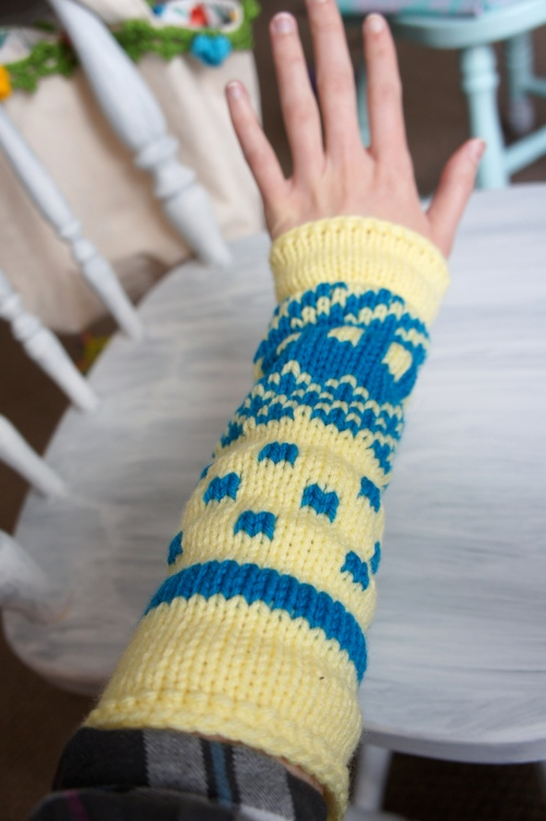 Arm Warmers on Arms