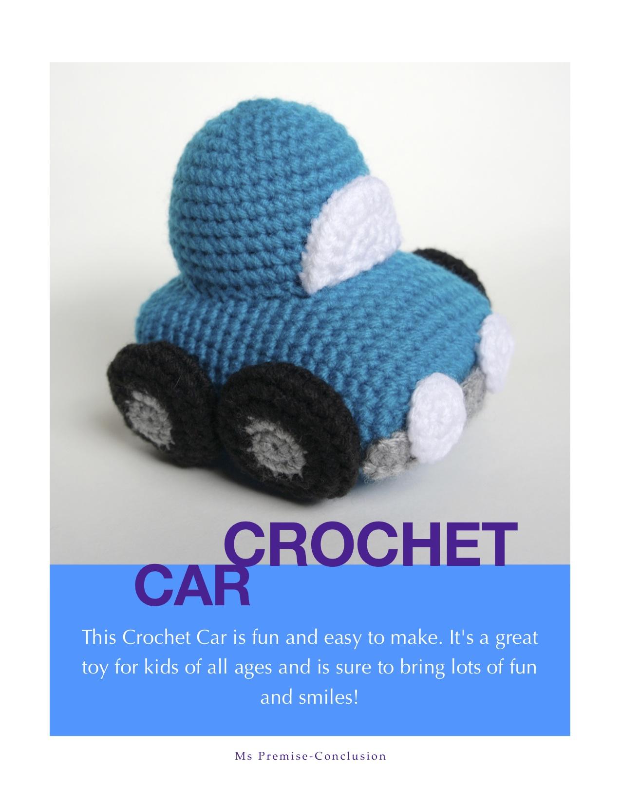 Crochet Car Title Page