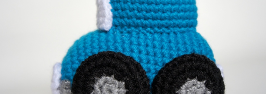 Crochet Car (Side)