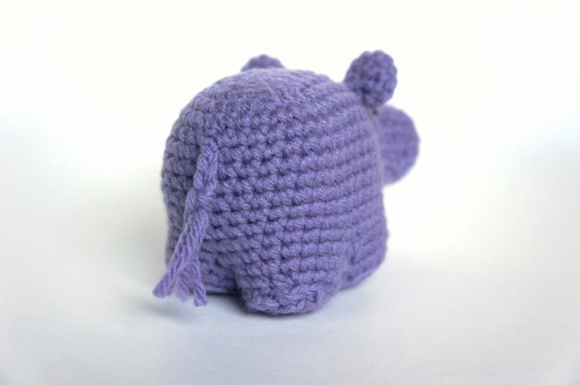 Amigurumi Hippo 3
