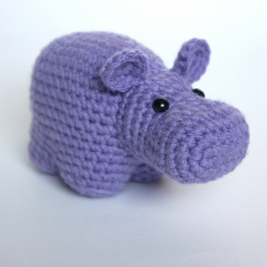 Amigurumi Hippo1