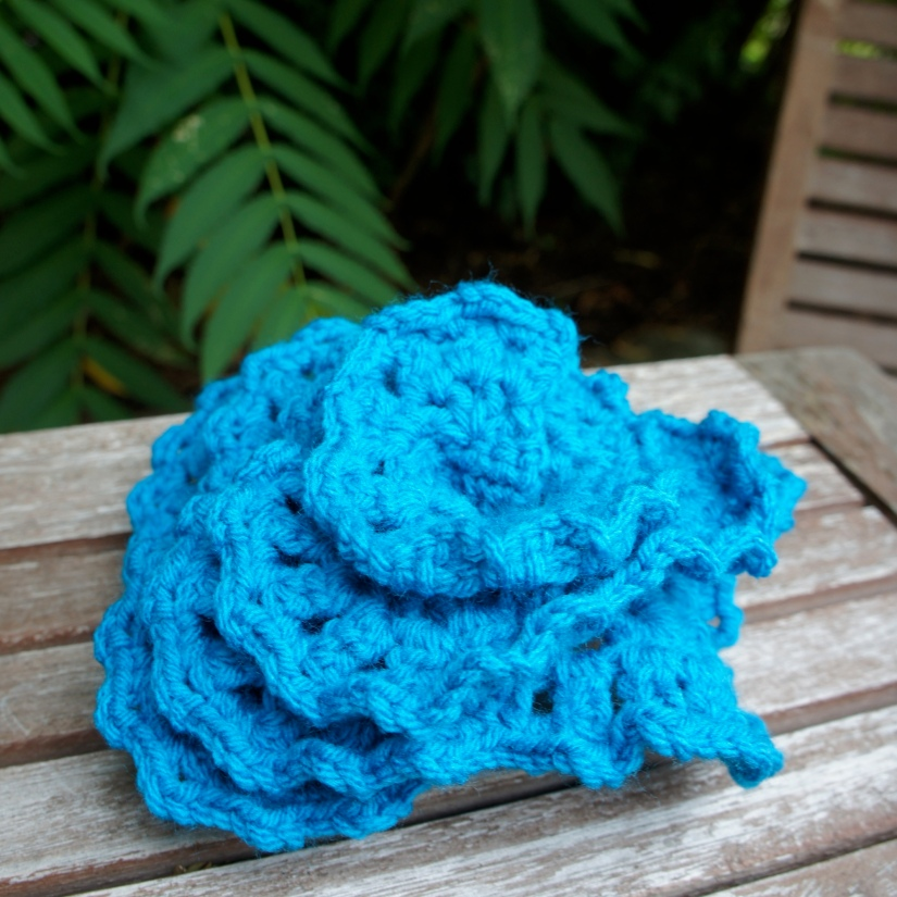 Large Blue Rose