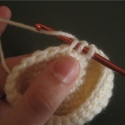 Invisi-Single Crochet Decrease Close-Up