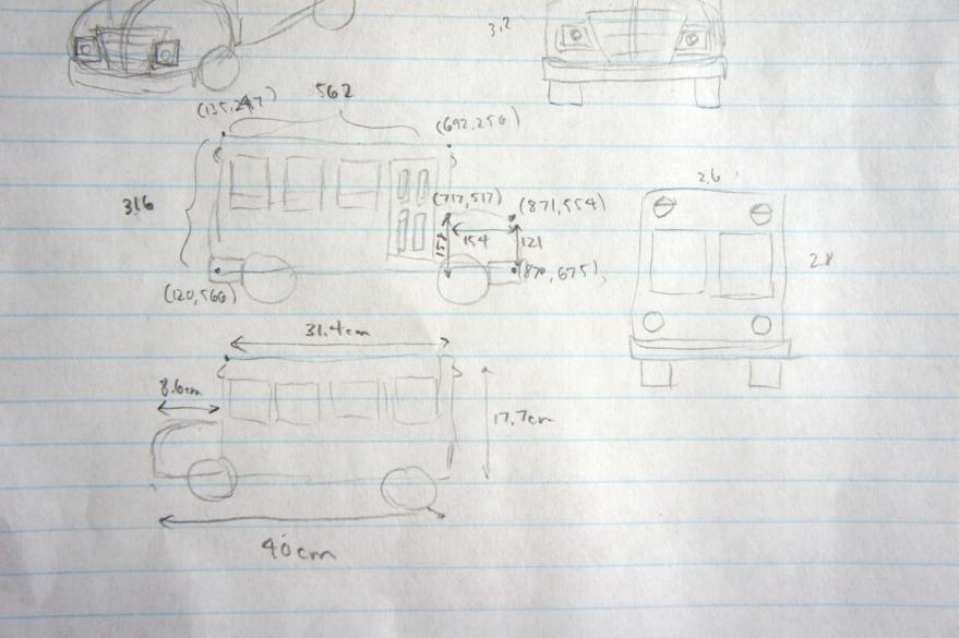 Schoolbus Sketch