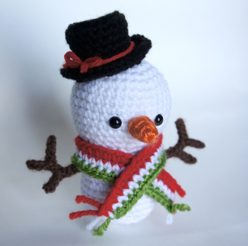 Snowman Amigurumi 1