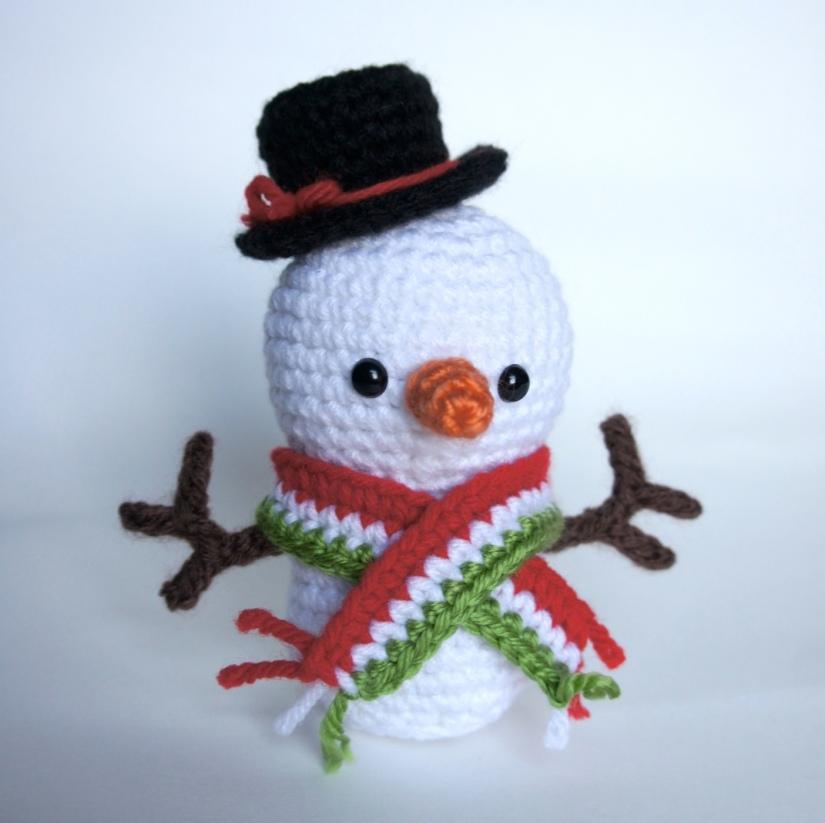 Snowman Amigurumi 2