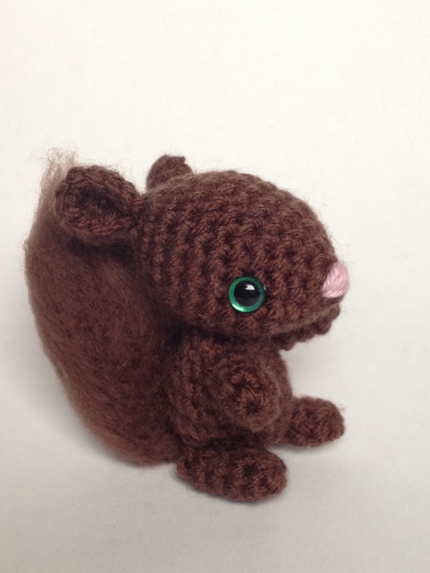 Squirrel Amigurumi Crochet Pattern - The Magic Loop | 1877x1408
