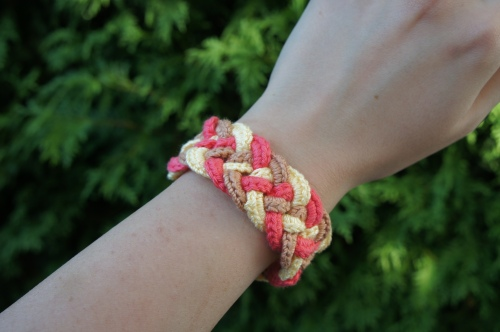 Braided Crocheted Bracelet