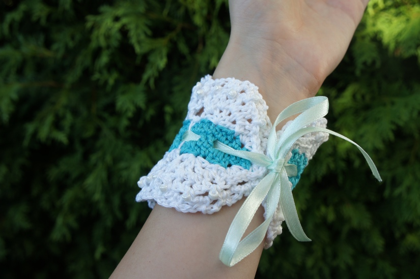 Lacey Crocheted Bracelet