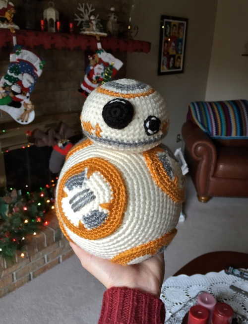 BB8 crochet Christmas