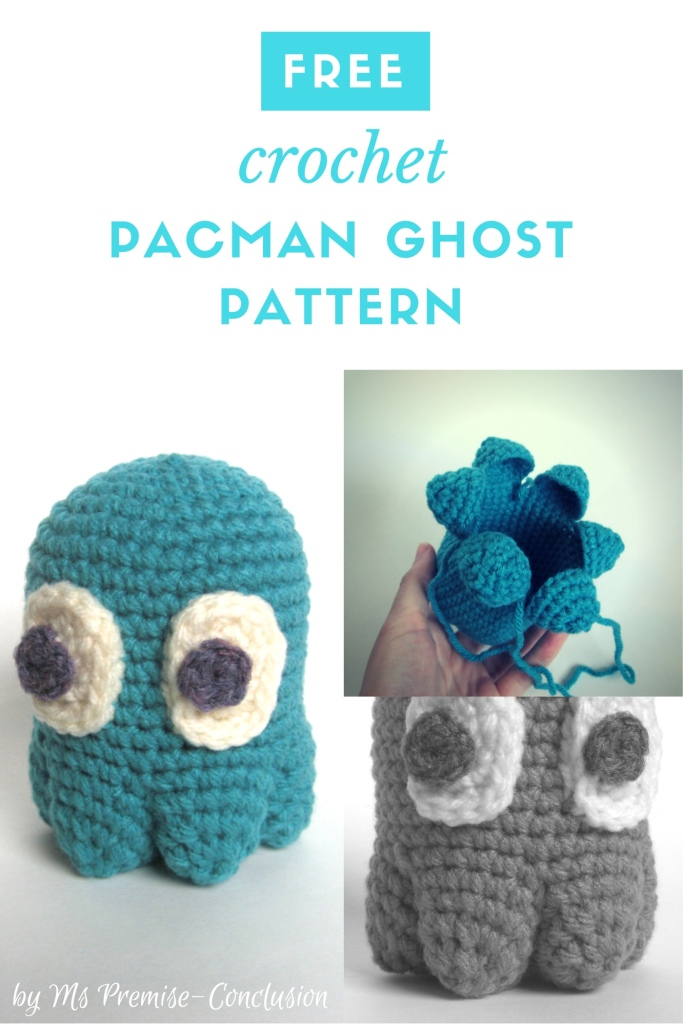 Pacman Ghost Pattern pic