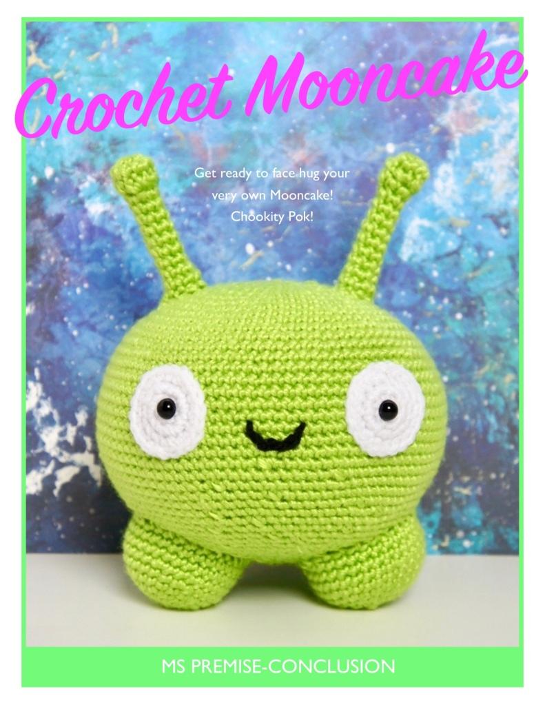 Crochet Mooncake Cover