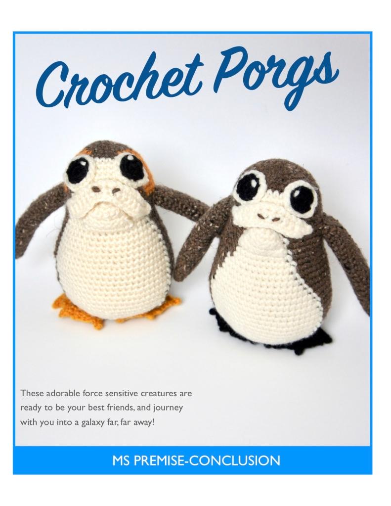 Crochet Porgs Cover