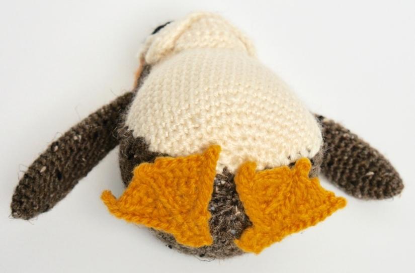 Crochet Porg Feet
