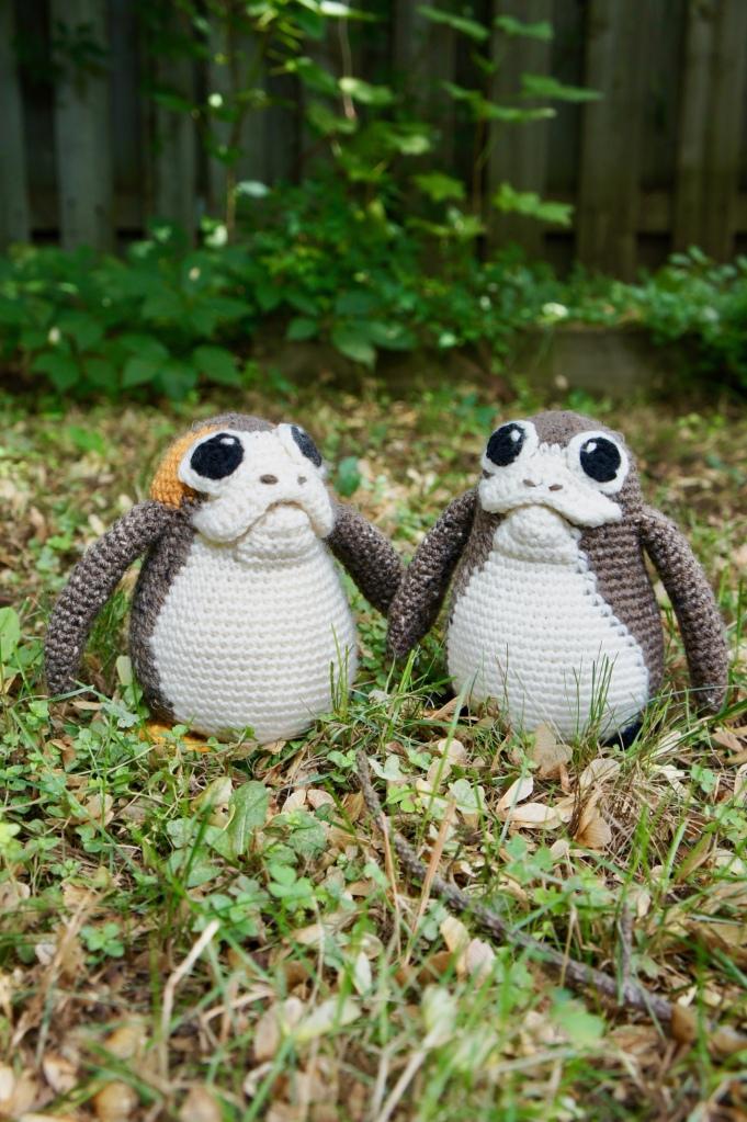 Crochet Porgs